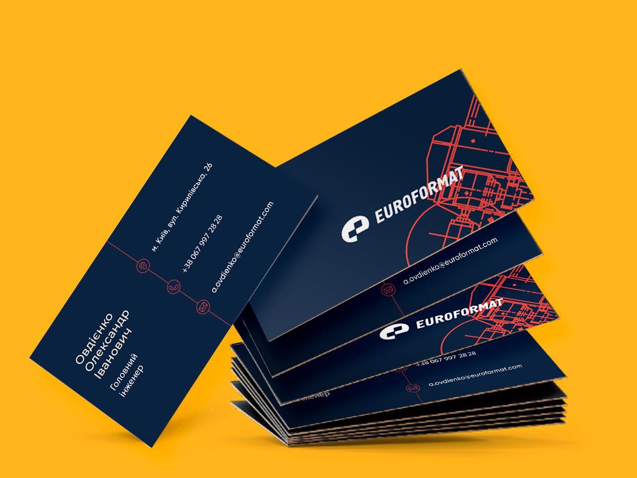 Типографія КОМАНДА-А в Києві друкує та розробляє дизайн візиток в короткі терміни.
